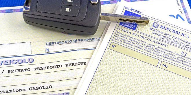 Il certificato di proprietà dell'auto diventa digitale